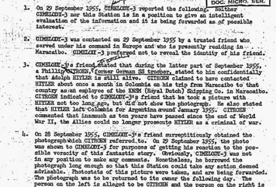Изображение из Архива документов ЦРУ