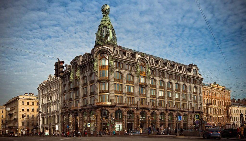 Дом Зингер Санкт Петербург офис ВКонтакте