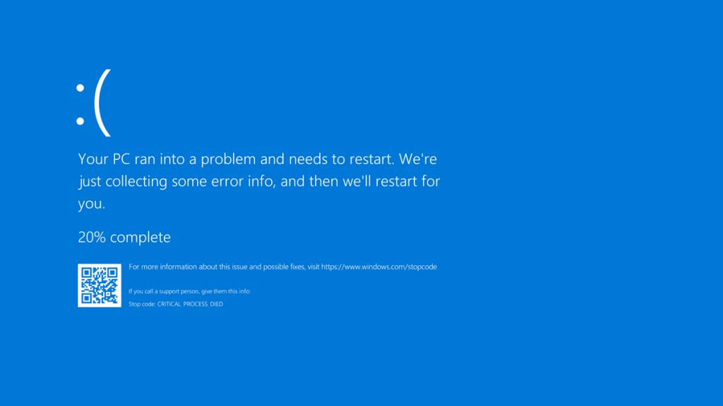 Синий экран смерти